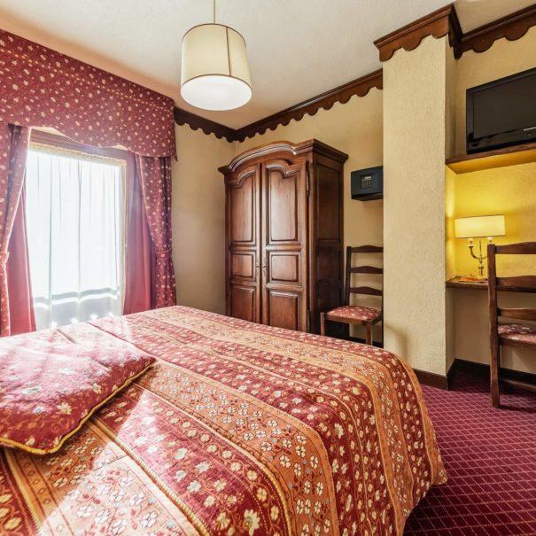 camera matrimoniale letti singoli - hotel cervinia vicino piste da sci