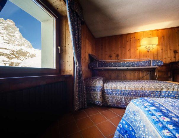 camere hotel - hotel cervinia vicino piste da sci