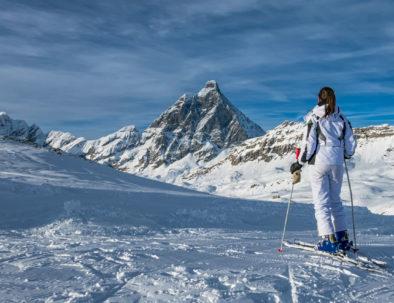 sci estivo - hotel cervinia vicino piste da sci